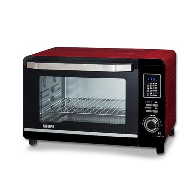 SAMPO聲寶-30L微電腦雙溫控電烤箱-KZ-P
