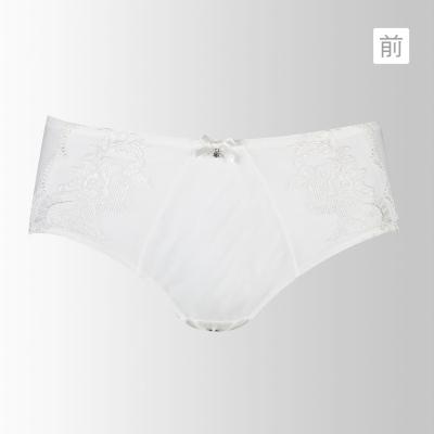 黛安芬-艾聖思‧絕色光景系列M-EL平口內褲(浪漫白)