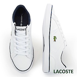 LACOSTE 女用休閒鞋-白/藍