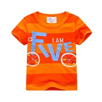 jumping meters上衣 男童 FIVE 歐美經典兒童純棉短袖T恤