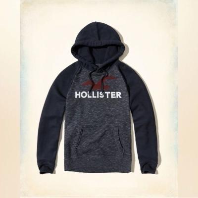 Hollister HCO 長袖 帽T 藍色 0172