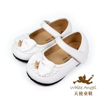 天使童鞋-C2387 甜心愛麗絲娃娃鞋-雲朵白