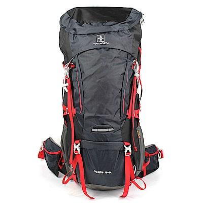 aaronation -WAY NORTH 75+5升級版登山背包 VV-S298