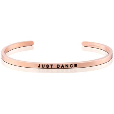 MANTRABAND Just Dance 盡情地跳舞吧 悄悄話手環 玫瑰金