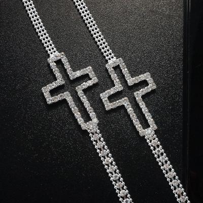 I-shi 十字星願奧地利水鑽肩帶