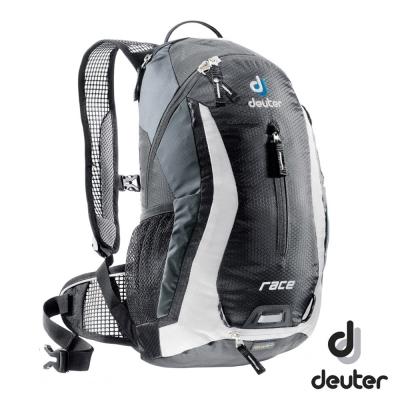 《Deuter》32113 Race自行車背包 10L 黑/白