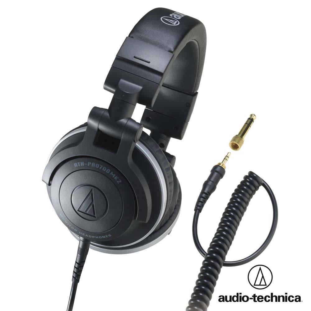 鐵三角 DJ專業型高傳真監聽耳機 ATH-PRO700MK2