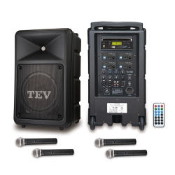 TEV CD/USB/SD四頻無線擴音機 TA680iC-4