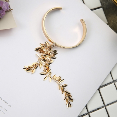 梨花HaNA-韓國奢麗年代麥繐垂綴手環
