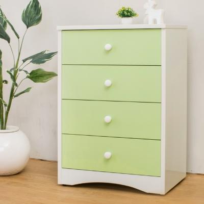 Birdie南亞塑鋼-貝妮2.2尺塑鋼四斗櫃(粉綠色)-67x45x97cm