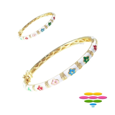 彩糖鑽工坊 親子手環&親子手鍊 糖瓷手鍊 (白色) 初生之喜彌月禮