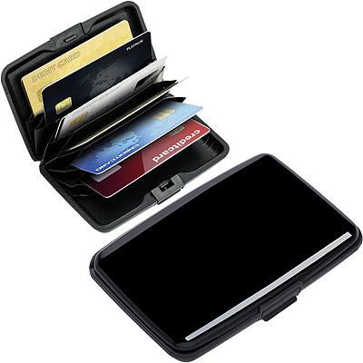 REFLECTS RFID硬殼防護證件卡片盒(黑)