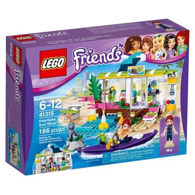 LEGO樂高 Friends系列 41315 心湖城衝浪店