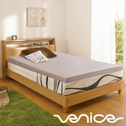 Venice日本抗菌防蹣6cm記憶床墊-雙人5尺(灰色)