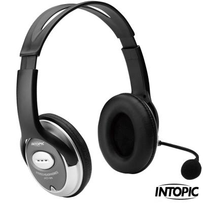 INTOPIC廣鼎-頭戴式耳機麥克風 JAZZ-358