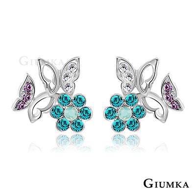 GIUMKA 花仙子 針式耳環-銀色