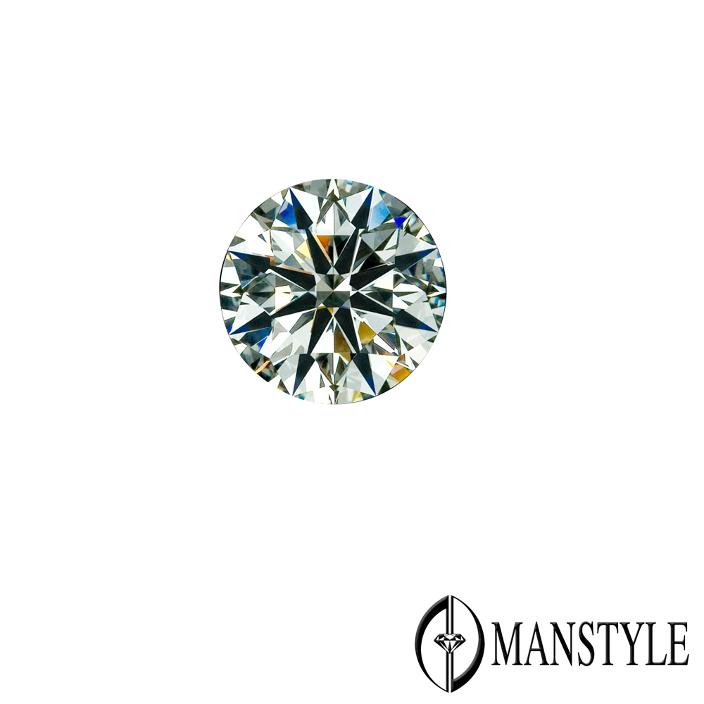 GIA-MANSTYLE 0.61ct F-VVS2 八心八箭裸鑽