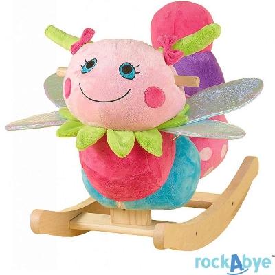 Rockabye 美國音樂搖滾玩偶搖椅 蜻蜓款