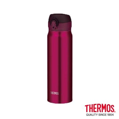 THERMOS膳魔師-超輕量-不鏽鋼真空保溫瓶0-6L-JNL-600-BGD