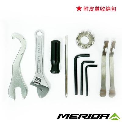 《MERIDA》美利達 自行車多功能維修工具組 元氣小站皮套維修包 2309001897