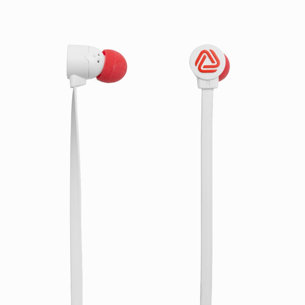 Coloud Pop 瑞典設計 撞色系列 耳機-白紅