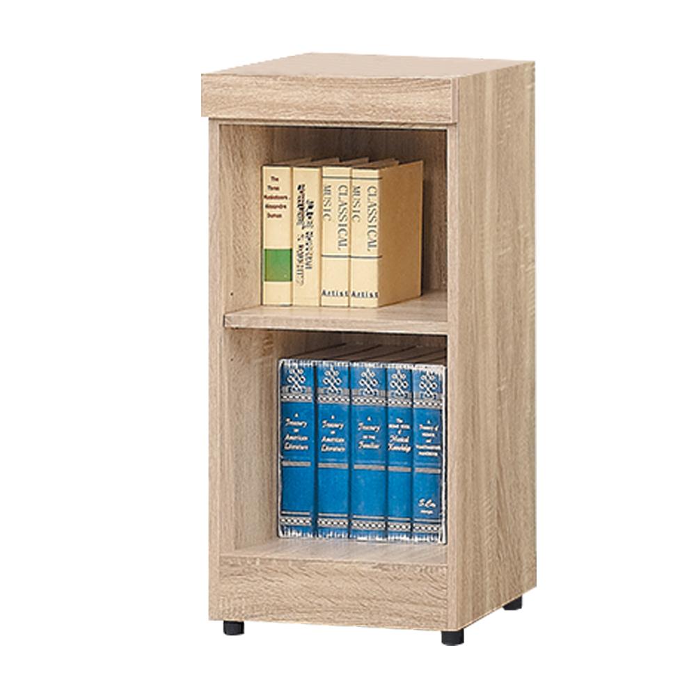 Boden-達爾思1.3尺開放式二格書櫃/收納櫃/展示櫃-39x32x78cm