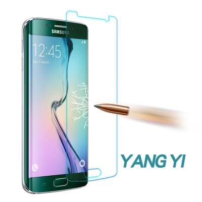 YANG YI 揚邑 Samsung S6 edge 防爆防刮防眩弧邊 9H鋼化玻璃保護膜
