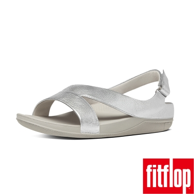 FitFlop TM-RINGER TM SUPERLIGHT LEATHER-銀色
