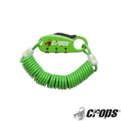 《CROPS》Q3多用途密碼鎖(共五色)SPD08-綠