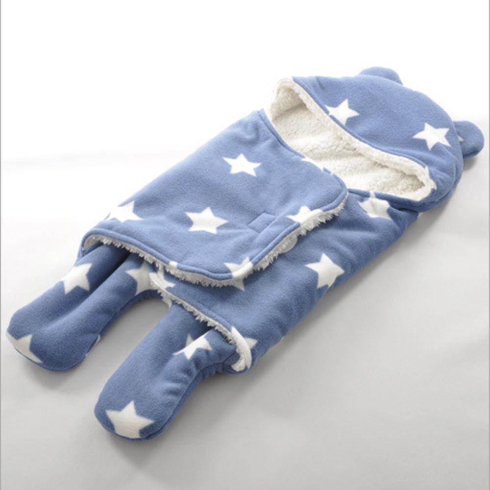 保暖雙層羊羔絨嬰兒分腿式睡袋 共6款