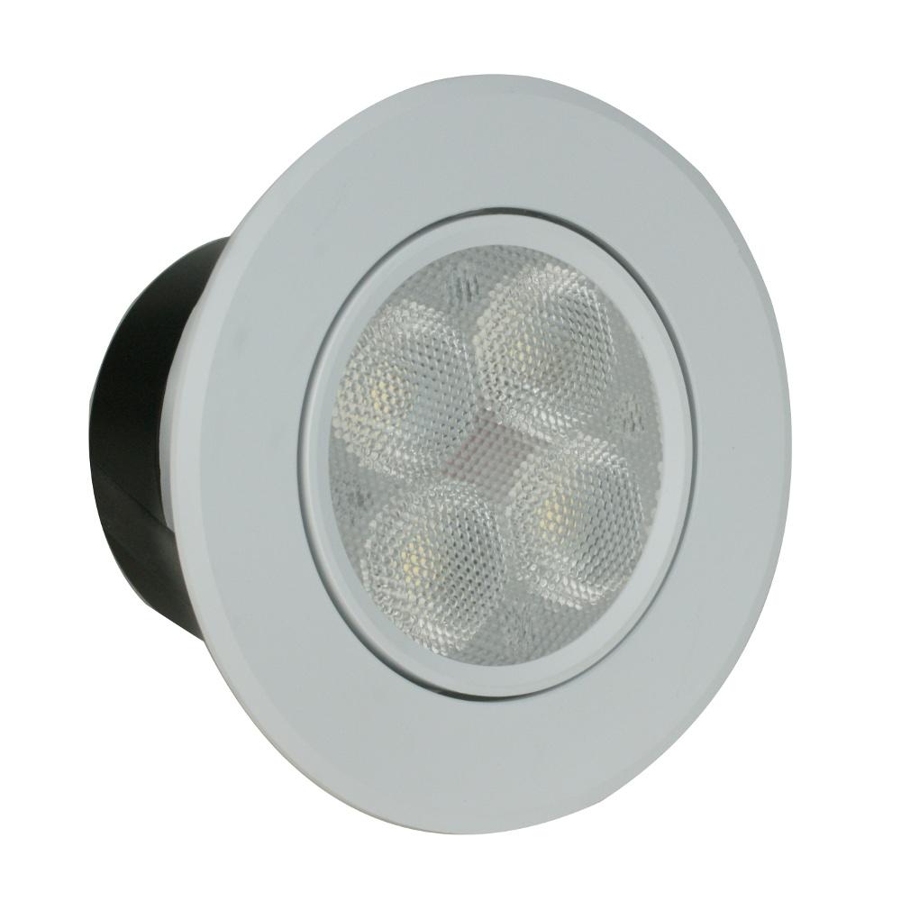 台光 LED 7W 7.5公分崁燈-黃/白(GL7W07H)-2入