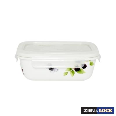 Zen Cook祕密花園微波盒  長方 400ml