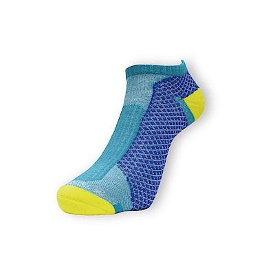 AREX SPOR 足弓支撐機能慢跑襪-男-黃藍