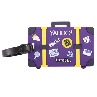 Yahoo Logo行李吊牌
