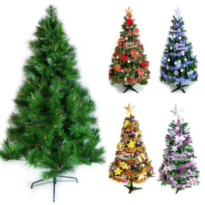 台製12尺(360cm)特級綠松針葉聖誕樹(+飾品組)(不含燈)