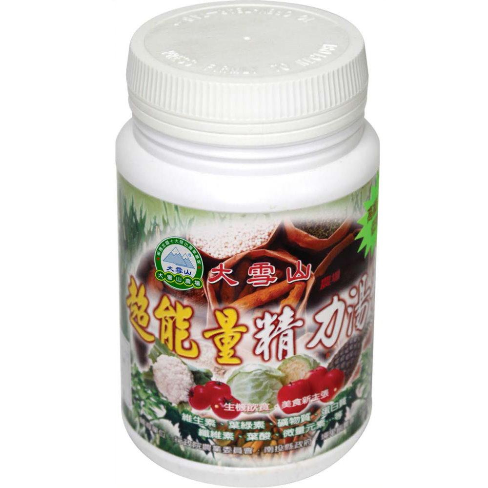 大雪山農場 超能量精力湯粉(300gx4瓶)