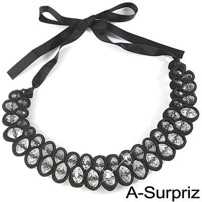 A-Surpriz 清新名媛寶石項鍊