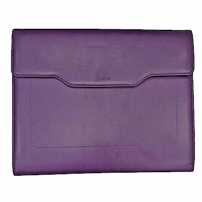 Filofax A4 ZIP Chameleon 紫紅多功能文件夾