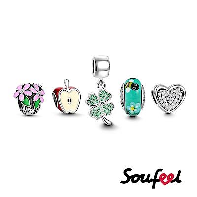 SOUFEEL索菲爾 925純銀串珠套組S12