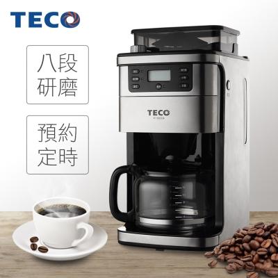 TECO東元-自動研磨美式咖啡機-YF1002CB