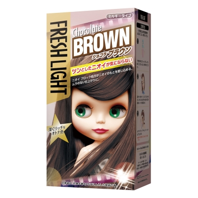 FRESHLIGHT富麗絲 染髮系列巧克力棕(第一劑40g第二劑80ml)