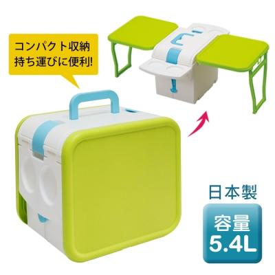 日本IMOTANI迷你變形冰桶/保冷<b>5</b>.4L