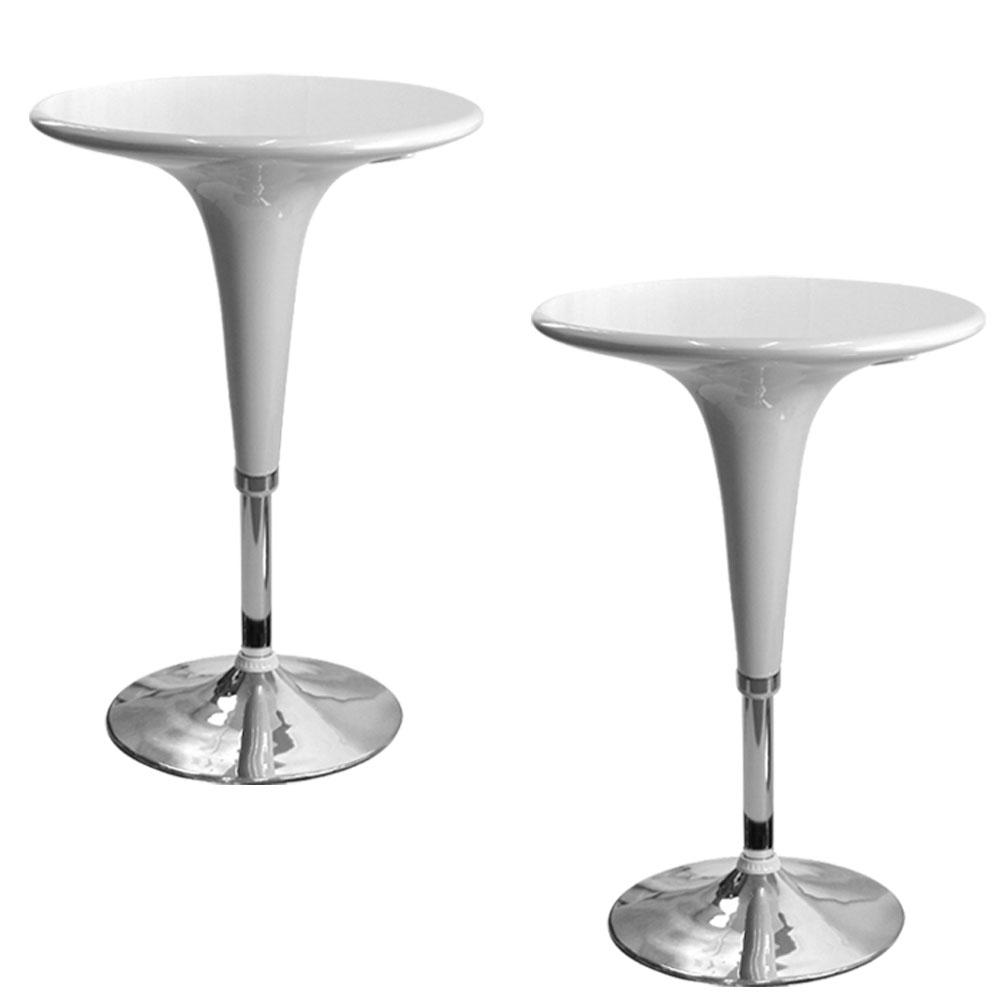 LOGIS 瑪蘇娜吧台桌/高腳桌/升降桌三色(2入)