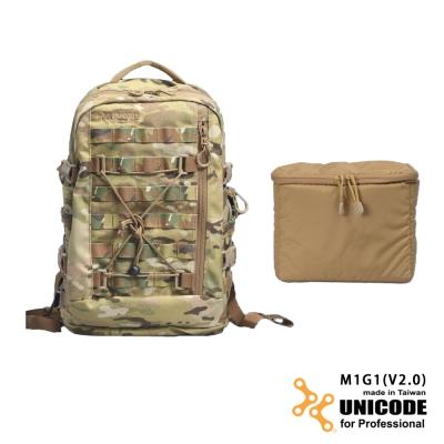 UNICODE M1G1 雙肩攝影背包 內袋套組(V2.0版)-多地迷彩