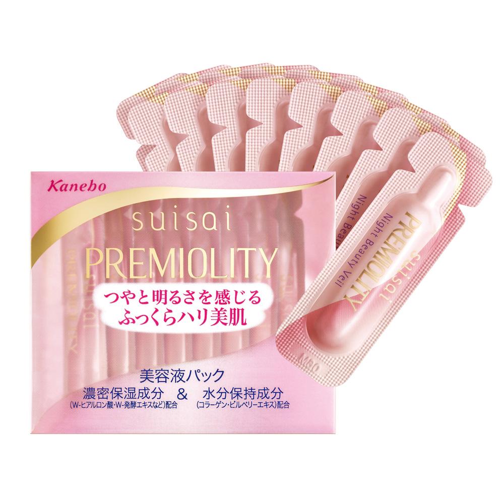 Kanebo佳麗寶 SUISAI優質美肌活顏集中修護安瓶1ml*16包
