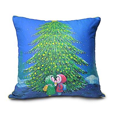 繪見幾米 忽遠忽近  20 週年聖誕樹下數位抱枕