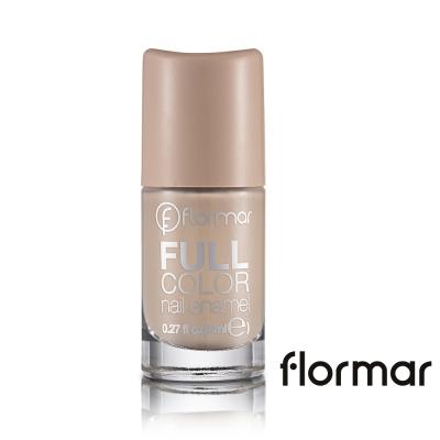 法國 Flormar - 沐浴巴黎系列玩色指甲油(FC06左岸拿鐵)