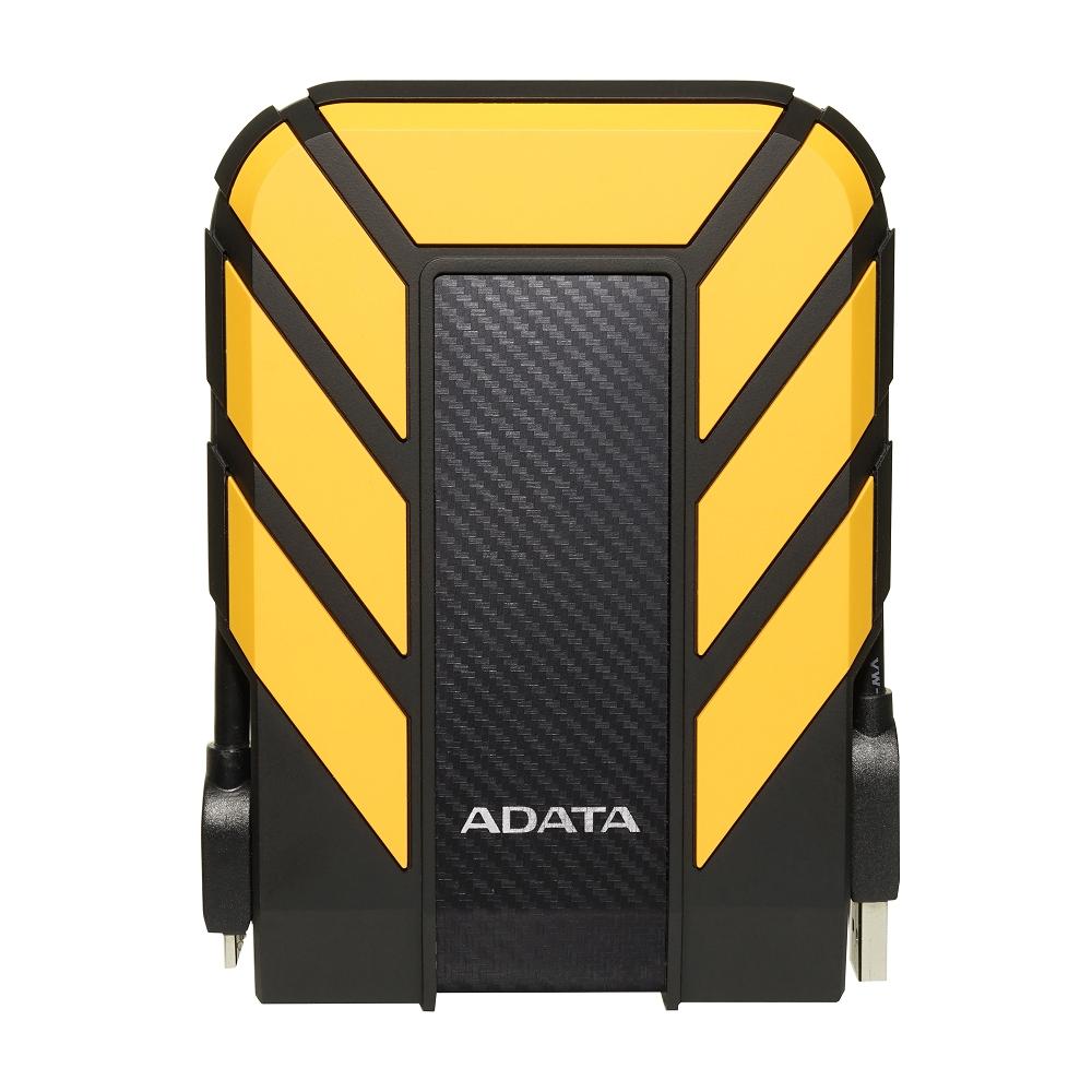 ADATA威剛 Durable HD710Pro 2TB 2.5吋行動硬碟-黃色
