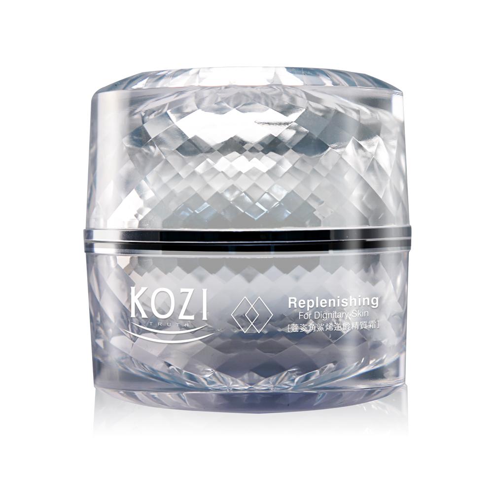 (即期品)KOZI蔻姿 角鯊烯逆齡精質霜(鑽石瓶50ml)(效期至2021/5/3)