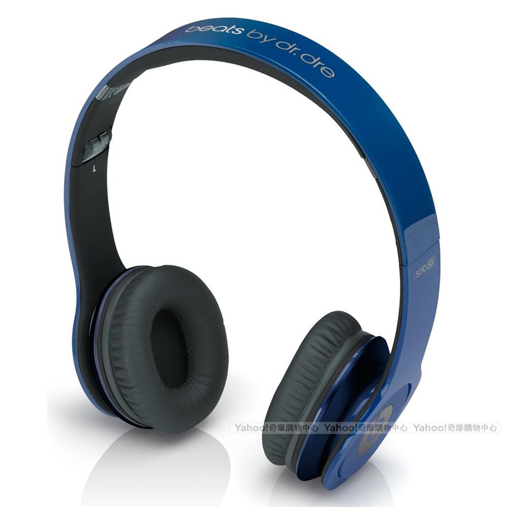 BEATS耳機 Solo HD 鐵藍 耳罩耳機 beats by dr. dre台灣公司貨